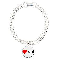 iheartdnb.png Charm Bracelet, One Charm