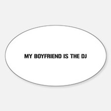 Unique Dj Sticker (Oval)