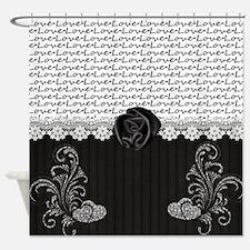 Elegant Love Shower Curtain