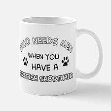 British Shorthair cat design Mug