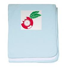Unique Passion fruit baby blanket