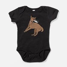 Cute Djing Baby Bodysuit