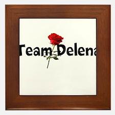 Team Delena Framed Tile