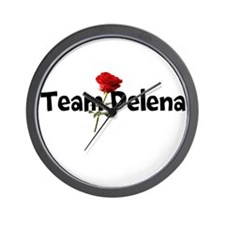 Team Delena Wall Clock