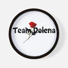 Team Delena Wall Clock