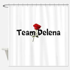Team Delena Shower Curtain