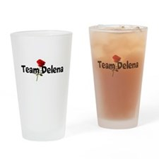 Team Delena Drinking Glass