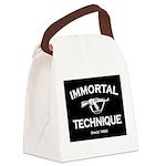 Immortal Technique Black Canvas Lunch Bag