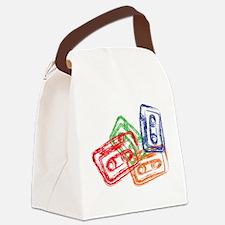 Unique Cassette Canvas Lunch Bag