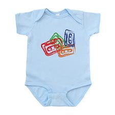 Funny Music recording Infant Bodysuit