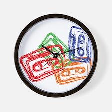House music Wall Clock