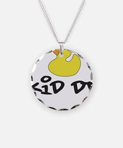 Cute Baby and house music Necklace