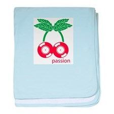 Cute Passion fruit baby blanket