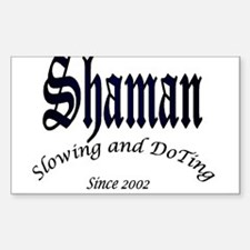Shaman 2002 Rectangle Decal