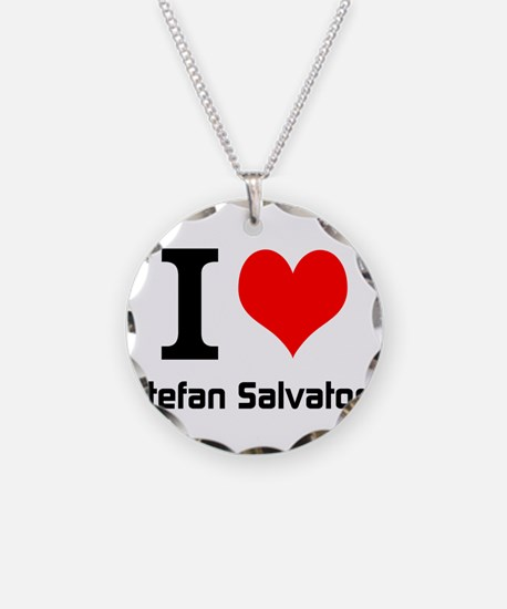I love Stefan Salvatore Necklace