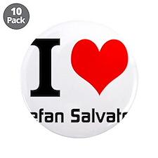 "I love Stefan Salvatore 3.5"" Button (10 pack)"