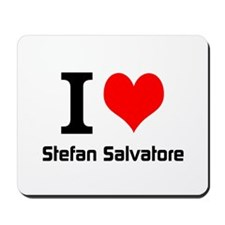 I love Stefan Salvatore Mousepad