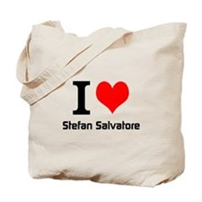 I love Stefan Salvatore Tote Bag