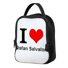 I love Stefan Salvatore Neoprene Lunch Bag