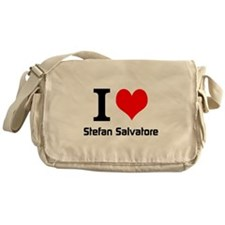 I love Stefan Salvatore Messenger Bag