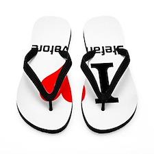 I love Stefan Salvatore Flip Flops