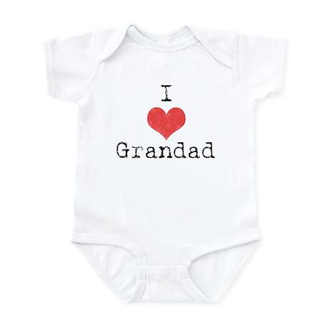 I {heart} Grandad Infant Bodysuit
