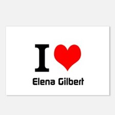 I love Elena Gilbert Postcards (Package of 8)