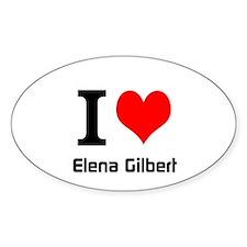 I love Elena Gilbert Decal