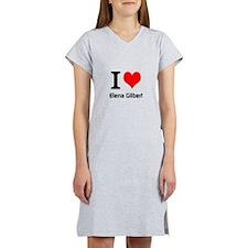 I love Elena Gilbert Women's Nightshirt