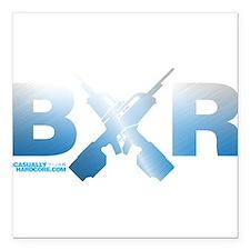 "BXR Square Car Magnet 3"" x 3"""