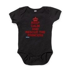 Unique Keep calm video Baby Bodysuit