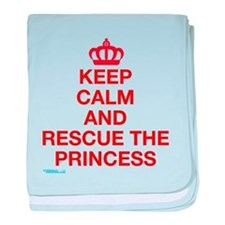 Unique Keep calm and carry on vintage baby blanket