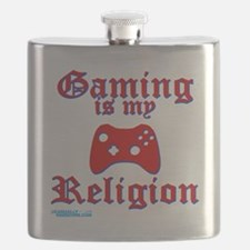 Gaming Is My Religion Flask