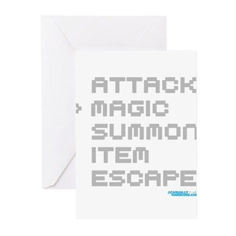 Magic Attack Greeting Cards (Pk of 10)