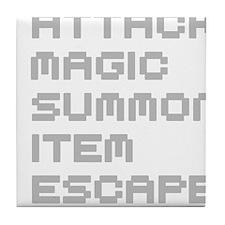 Magic Attack Tile Coaster