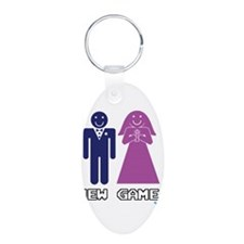 New Game + Marriage Keychains