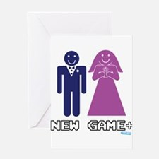 New Game + Marriage Greeting Card