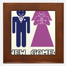 New Game + Marriage Framed Tile