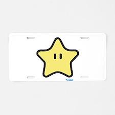 Star Power Aluminum License Plate
