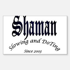 Shaman 2003 Rectangle Decal