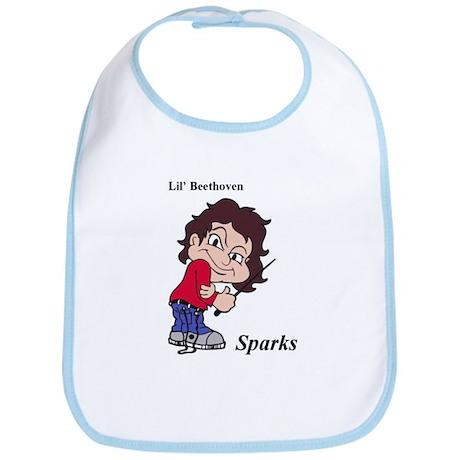 Sparks Lil Beethoven Bib