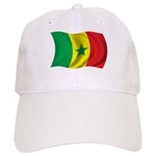 Wavy Senegal Flag Baseball Cap