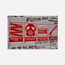 In Case Of Zombie Apocalypse Rectangle Magnet (10