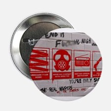"In Case Of Zombie Apocalypse 2.25"" Button"
