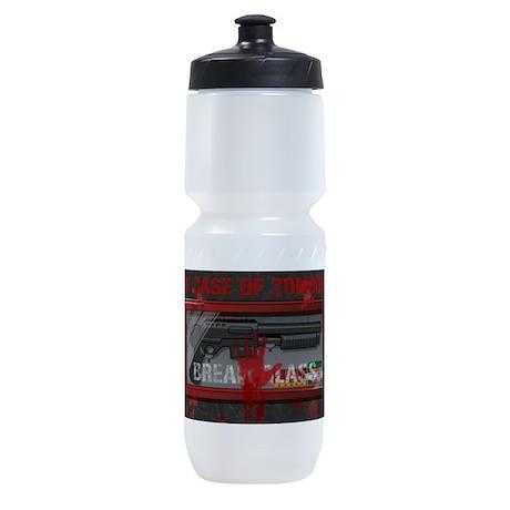 In Case Of Zombies Sports Bottle