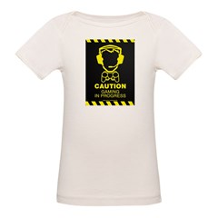 Gaming In Progress Organic Baby T-Shirt