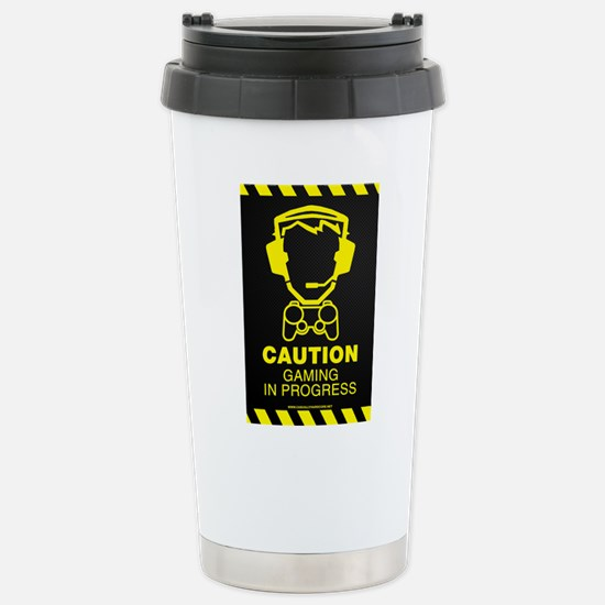 Gaming In Progress Stainless Steel Travel Mug