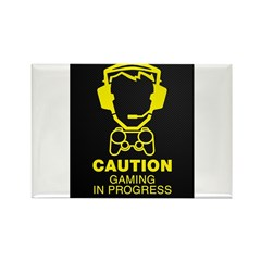 Gaming In Progress Rectangle Magnet (10 pack)