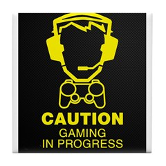 Gaming In Progress Tile Coaster