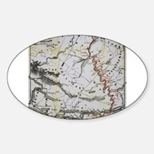 Railroad Map Decal